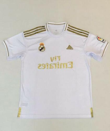 real madrid home soccer jersey 19 20