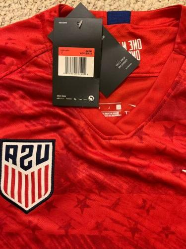 Red Men's Away Jersey 2019 Soccer Jersey Size