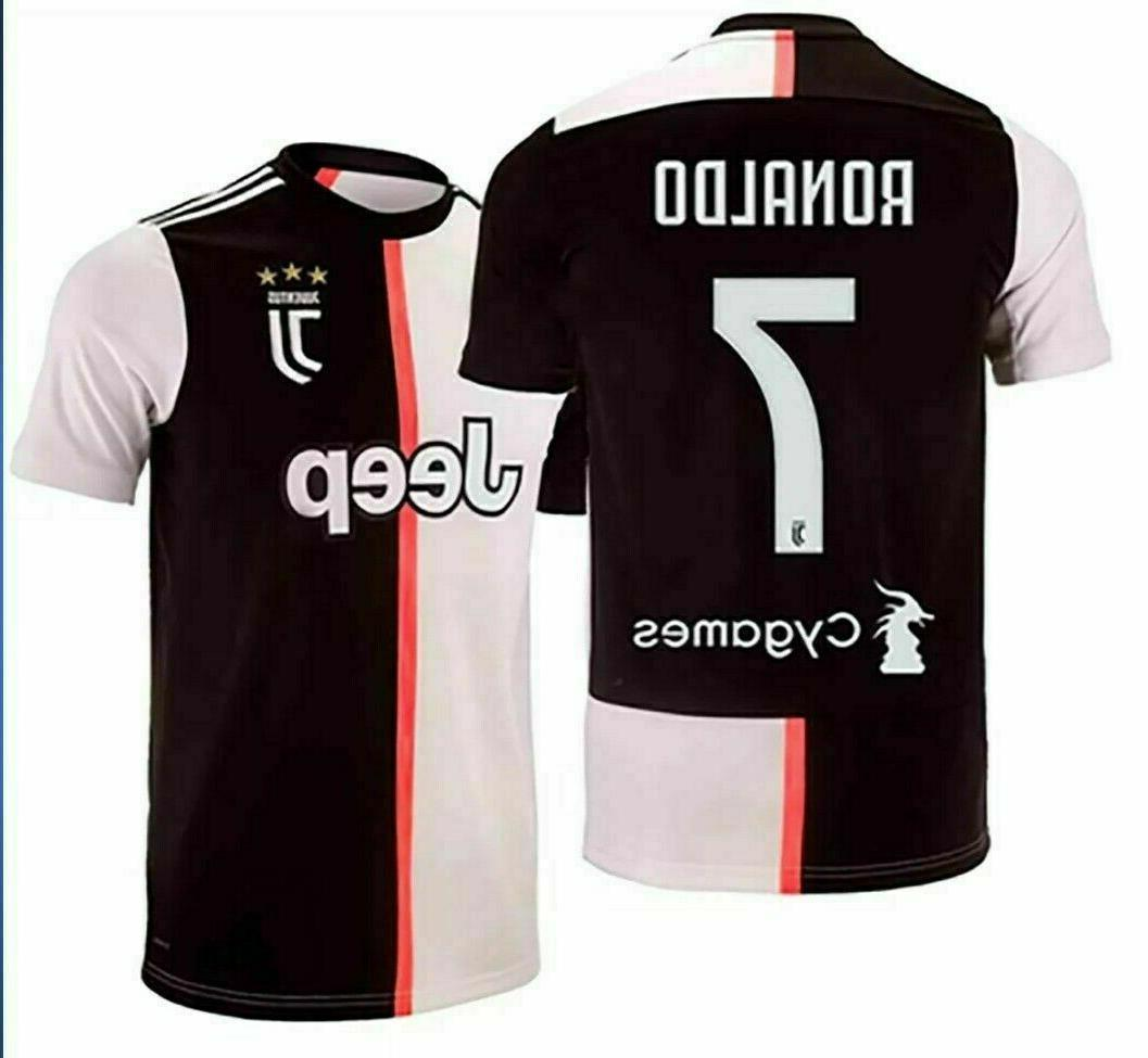 Ronaldo #7 Home New Season 2019-2020 Soccer Jersey Adult/Men
