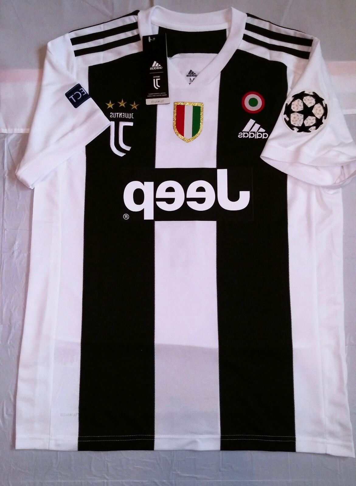 ronaldo juventus home jersey champions league medium