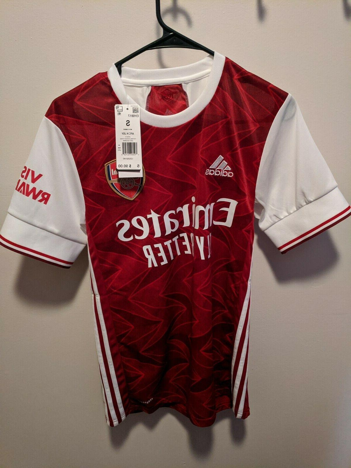 soccer arsenal 20 21 home jersey adult
