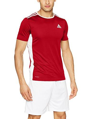 adidas Soccer 18 Jersey, Red/White, Large
