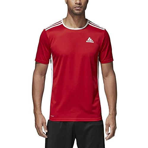 adidas 18 Jersey, Power Red/White, Large