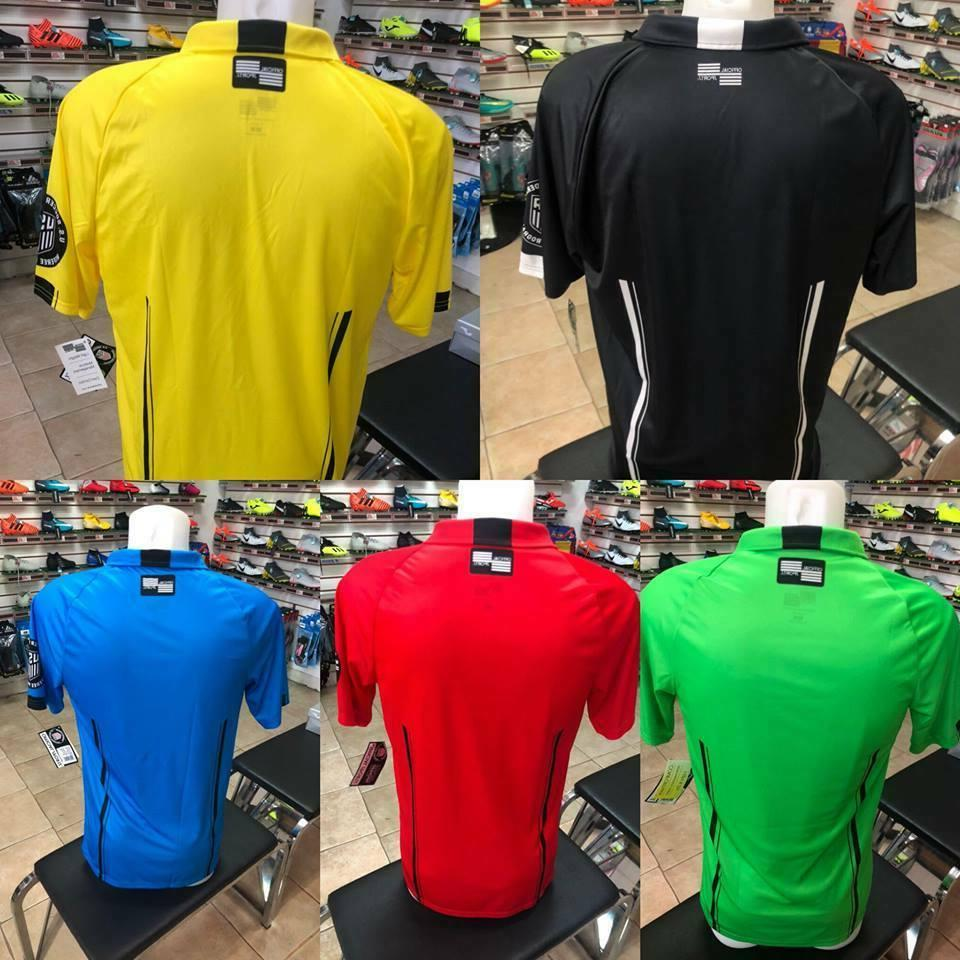 Soccer Referee official Sports green black red