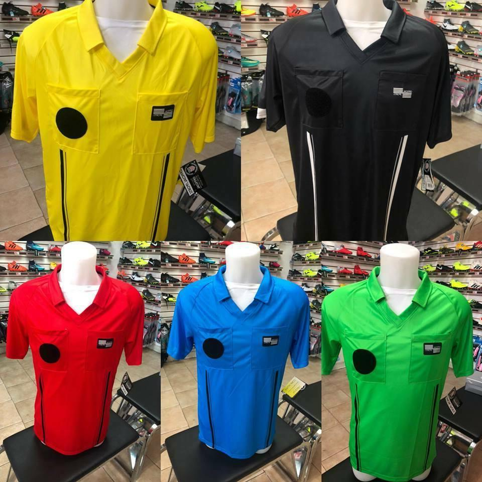 soccer referee official jersey sports shirt eocomy