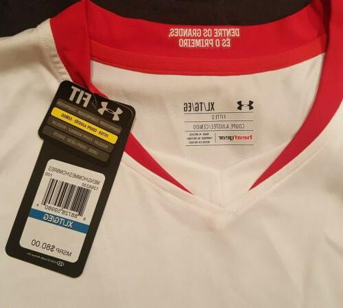 UNDER ARMOUR SPFC SOCCER JERSEY FITTED SZ: