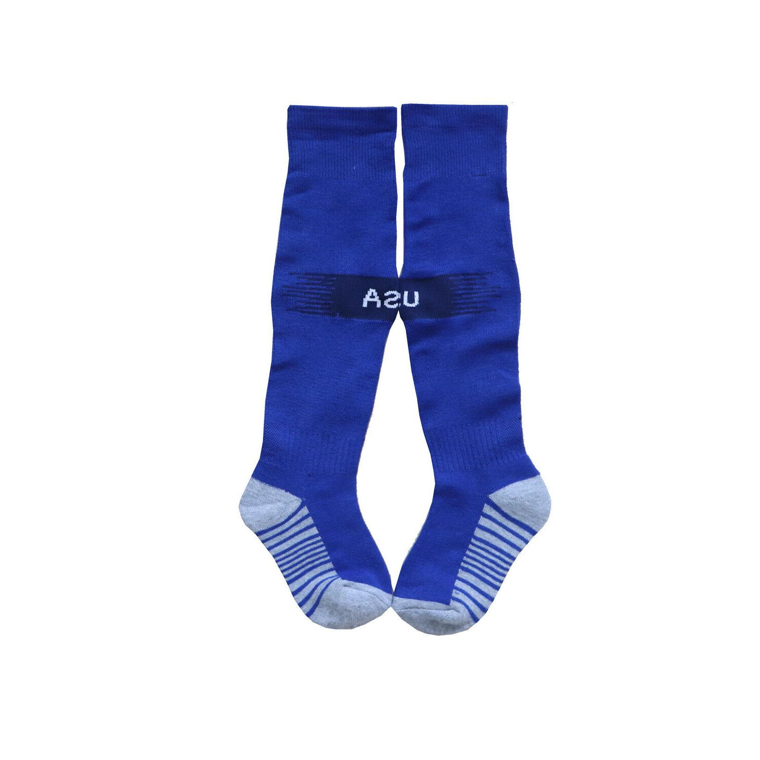 USA Kids Blue Jersey Socks Youth