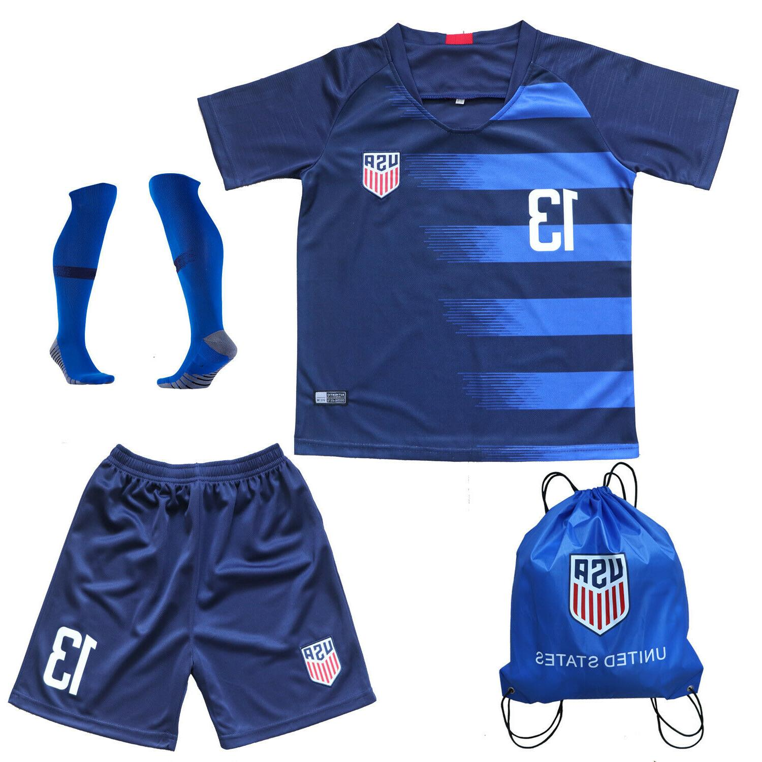 USA Alex #13 Kids Jersey Youth