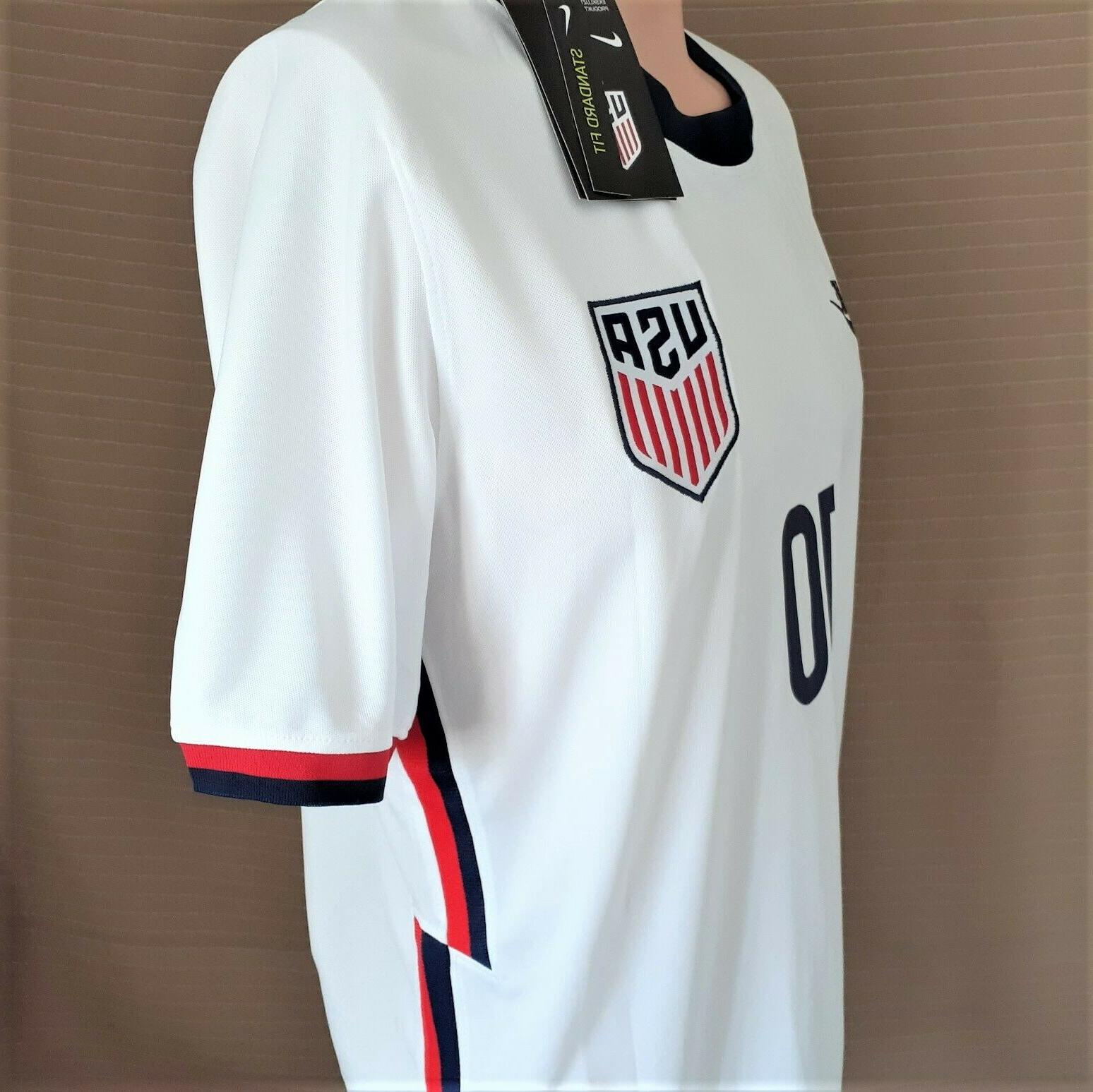 USA Home 2020-2021 Men's Pulisic Soccer