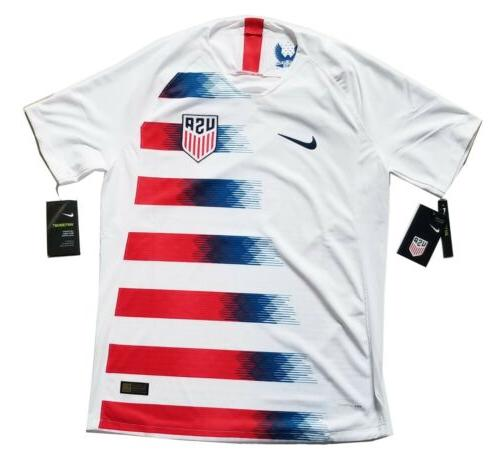 usa soccer jersey vaporknit player issued size