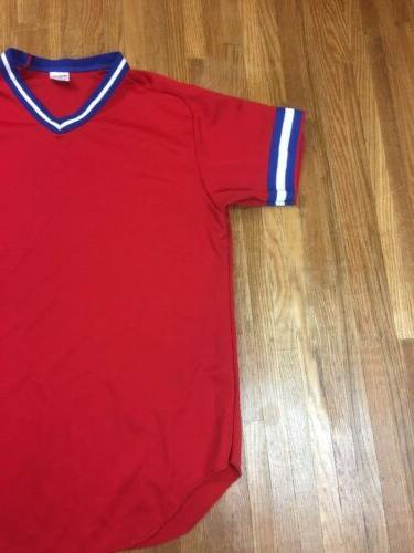 Vintage Jersey Mens Football Soccer Made USA