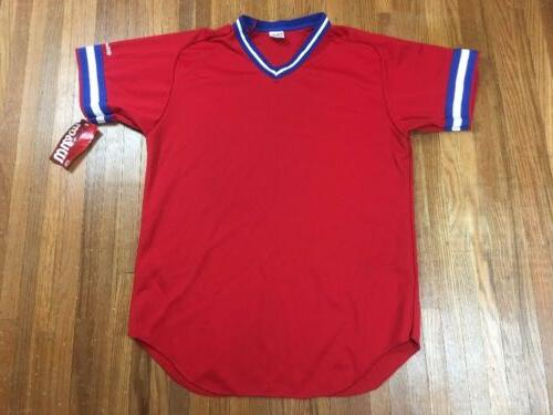 vintage baseball jersey mens sz xl football
