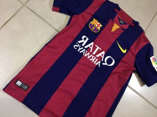 YOUTH 2014 Sz S Jersey Messi Boys