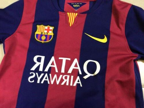 YOUTH FCB Barcelona 2014 Jersey Messi Boys