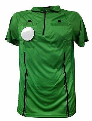 youth referee soccer jersey