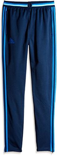 adidas Youth Soccer Condivo 16 Pants, Collegiate Navy/Blue,