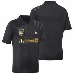 LAFC adidas Youth 2020 Primary Replica Jersey - Black