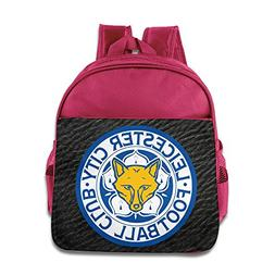 Leicester City FC Logo Backpack Children School Bags Pink