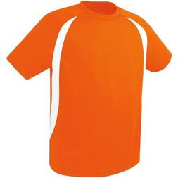 High Five Liberty Jersey,Orange/White, Youth Large