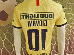 LIGA MX CLUB AMERICA GIOVANI LOCAL HOME JERSEY 2019/2020