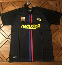 Lionel Messi #10 FC Barcelona Black Jersey 120 Years Edition