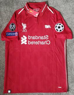 LIVERPOOL 2019 champions league red jersey camiseta remera M