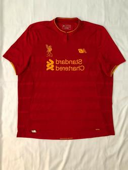 Liverpool Football Club Premier League Adult 2XL Red New Bal
