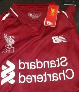 Liverpool Home Jersey 2019 Mens Soccer Jersey Red S New Bala