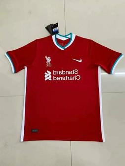 Liverpool Home jersey Jersey Soccer 2020/21 Football Men Shi