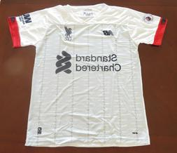 Liverpool Soccer Jersey White Size L