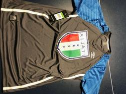 "LOT OF 4 NEW MENS ""ITALY"" UMBRO SOCCER JERSEYS SIZE S,M,L,XL"