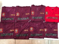 LOT OF 8 PORTUGAL HOME REPLICA WORLD CUP 2018 JERSEYS BURGUN
