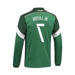 f74c7d2b683 Editorial Pick Adidas M. LAYUN  7 Mexico Home Jersey World Cup 2014