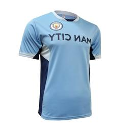 manchester city mens home soccer jersey training