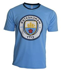 Manchester City Soccer Jersey Adult Training Custom Name and