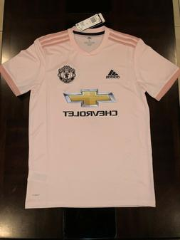 Adidas Manchester United FC Away Soccer Jersey Icey Pink  CG