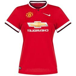 Manchester United Home Womens Jersey 2014 / 2015 - XL