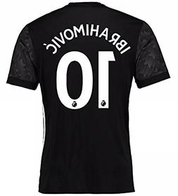 Manchester United Ibrahimovic #10 Away 2017-2018 Soccer Jers