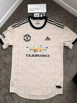 Adidas Manchester United Soccer Jersey Size Small 19/20 Beig