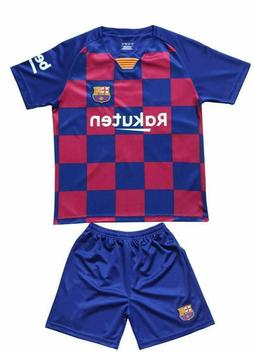 MC Lionel MESSI #10 Barcelona Home Kids Soccer Jersey & Shor