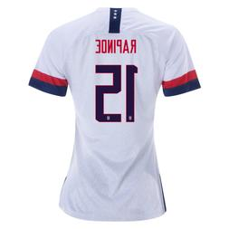 NIKE MEGAN RAPINOE 15 USA 2019 WORLD CUP WOMEN'S HOME WHITE