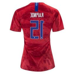 Megan Rapinoe #15 USA WOMENS Red 2019 World Cup SOCCER JERSE