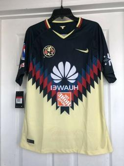 Men's 2017 Nike Club America Soccer Home Jersey Size Small &