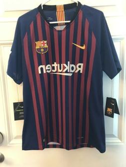 Nike Men's 2018/19 FC Barcelona Vapor Match Home Soccer Jers