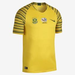 Men's Nike 2018 South Africa Stadium Home Soccer Jersey Size
