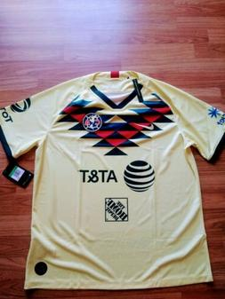 Nike Men's 2019/20 Club America Away Soccer Jersey  100% ORI