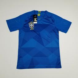Men's Brazil National Team Blue Replica Soccer Jersey