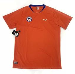 Men's Nike Chile Home WORLD CUP 2018/19 Soccer Jersey 893860