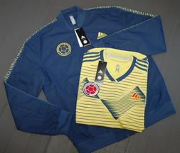 Adidas Men's Colombia Anthem Jacket & Player Issue Home Socc