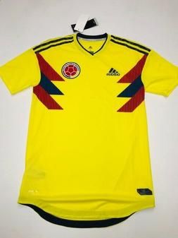 MEN'S ADIDAS COLOMBIA HOME SOCCER TEAM JERSEY SIZE SMALL ,NW